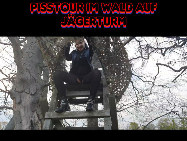 Video Thumbnail Pisstour im Wald auf Jägerturm.