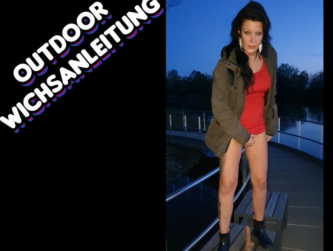 Lady_Melina_Jolie - Outdoor Wichsanleitung