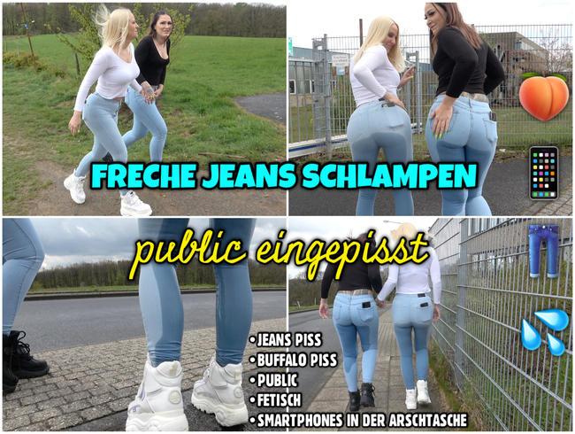 Video Thumbnail Freche JEANS Schlampen | Public EINGEPISST