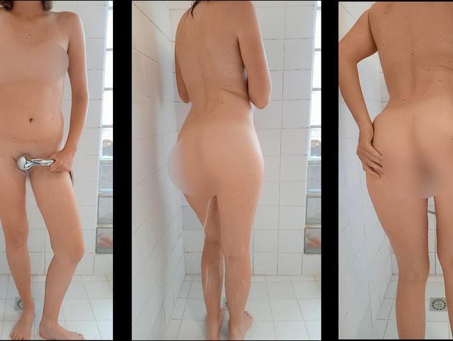 Video Thumbnail Nackt in der Dusche, ich streichel und verwöhne mich