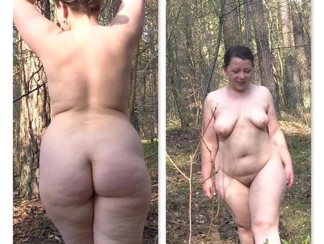 Video Thumbnail Nackter Waldlauf
