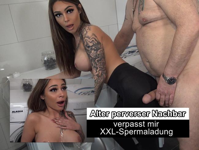 Video Thumbnail ALTER PERVERSER NACHBAR VERPASST MIR XXL-SPERMALADUNG