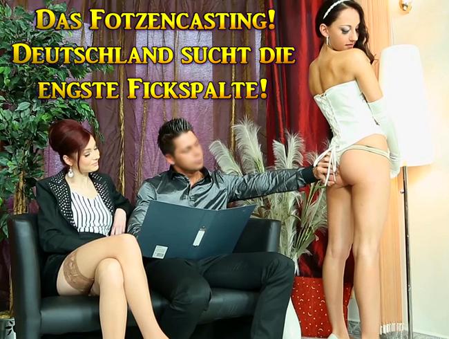 Video Thumbnail Deutschland sucht die engste Fickspalte! Fotzencasting!