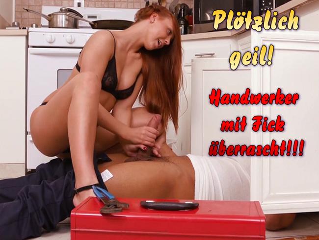 Video Thumbnail Plötzlich geil! Handwerker mit Fick überrascht!!!