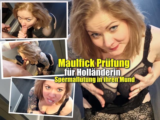 Video Thumbnail Maulfick Prüfung für Holländerin