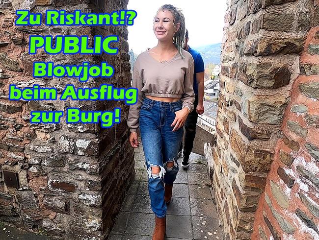 Video Thumbnail Zu Riskant!? Public Blowjob beim Ausflug zur Burg!