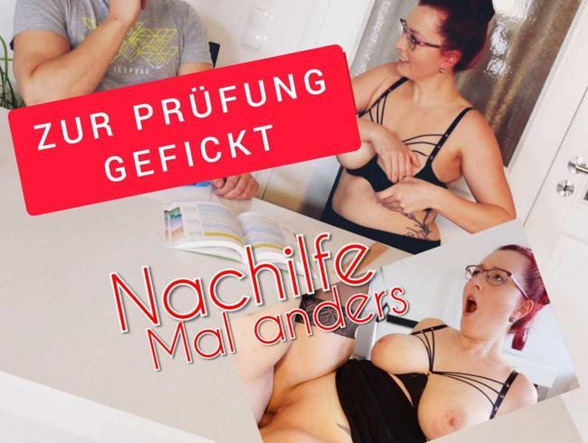 Video Thumbnail Nachhilfe für Stiefsohn - Mal anders zur Prüfung Gefickt !!