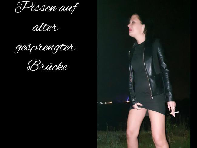 Video Thumbnail Pissen auf alter gesprengter Brücke.