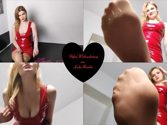 Video Thumbnail Nylon Wichsanleitung von Lady Rosalie (Cum Countdown)