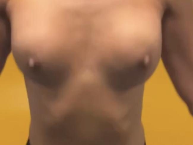 Video Thumbnail Schnurspringen ohne shirt, geile Tittn