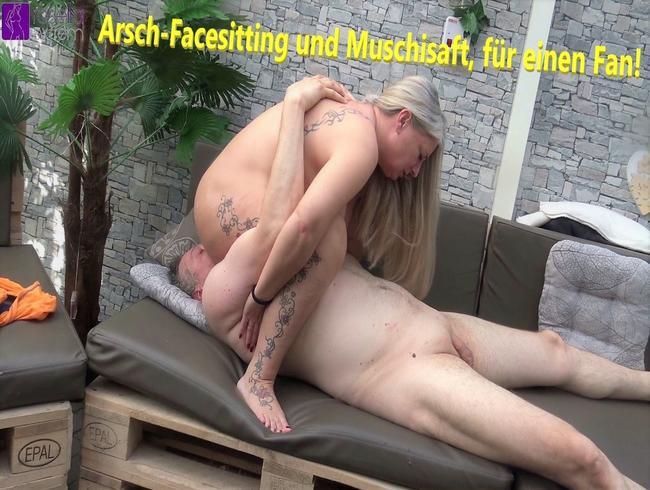 Video Thumbnail Arsch-Facesitting und Muschisaft, für einen Fan!