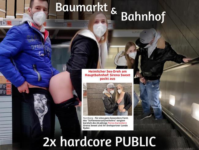 Video Thumbnail 2x hardcore PUBLIC - stand sogar in der Zeitung!