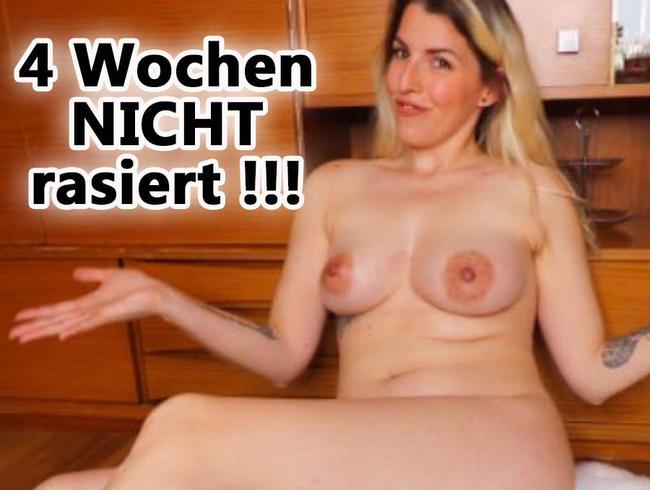 Video Thumbnail 4 WOCHEN nicht RASIERT