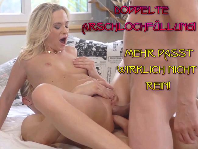 Video Thumbnail Doppelte Arschlochfüllung! Mehr passt wirklich nicht rein!