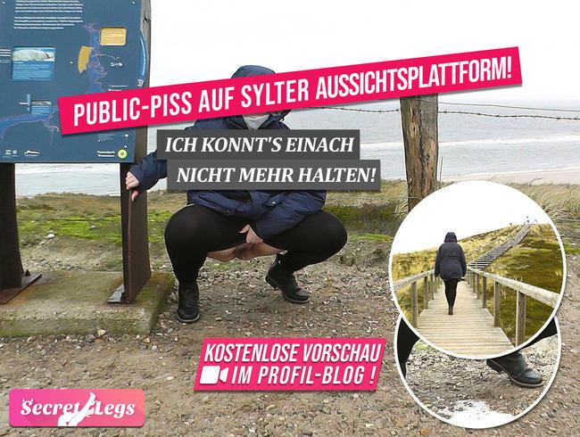 Video Thumbnail PUBLIC-PISS auf SYLTER Aussichtsplattform! - Ich konnt's einach nicht mehr halten!