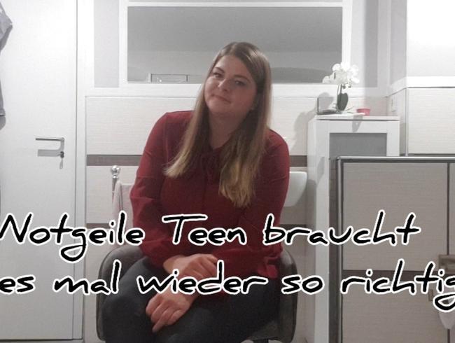 Video Thumbnail Notgeile Teen braucht es mal wieder heftig!!!!