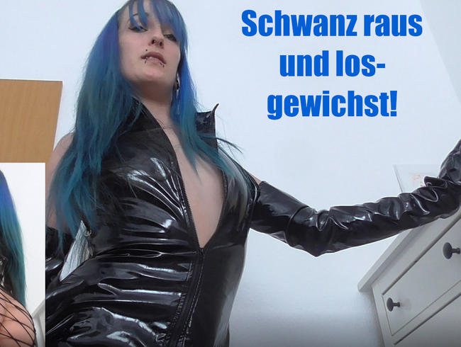 Video Thumbnail Schwanz raus und losgewichst!