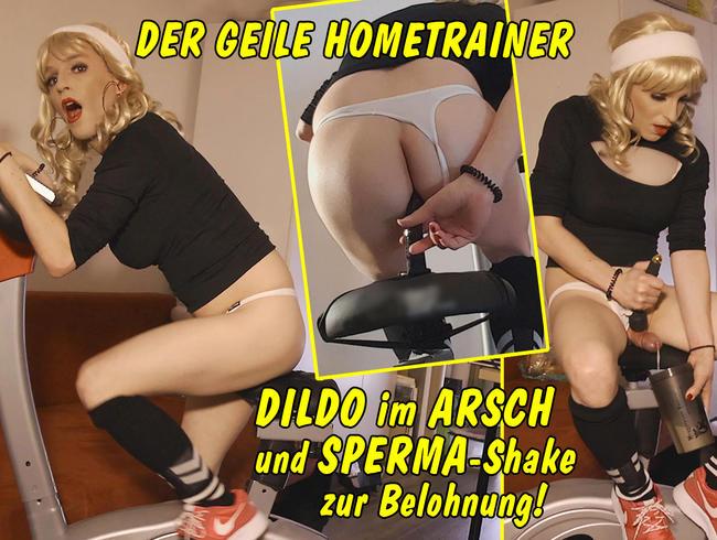 Video Thumbnail Der geile Hometrainer – Radeln mit Dildo im Arsch und Sperma-Shake zur Belohnung!