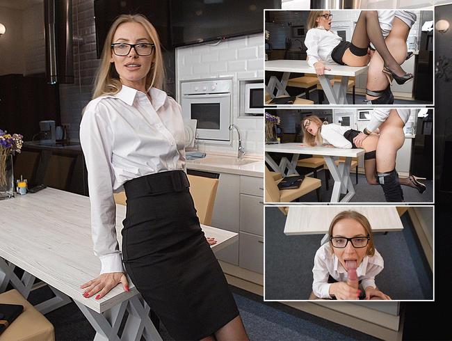 Video Thumbnail Leidenschaftlicher Sex mit einem Immobilienmakler für junge Schönheit