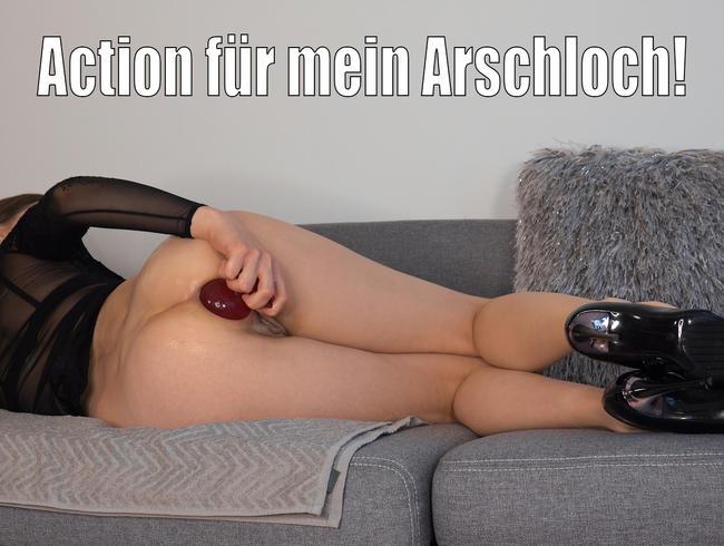 Video Thumbnail Action für mein Arschloch!