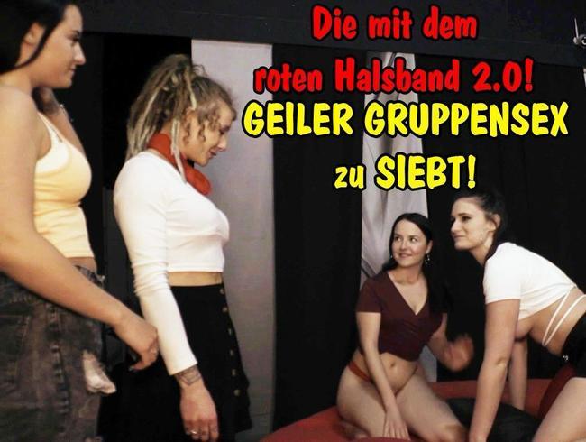Video Thumbnail Die mit dem roten Halsband 2.0! (GEILER GRUPPENSEX zu SIEBT)