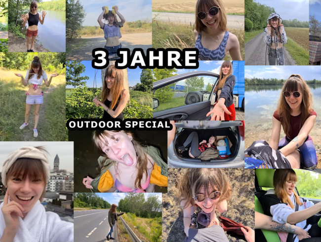 Video Thumbnail 3 JAHRE OUTDOOR SPECIAL !!