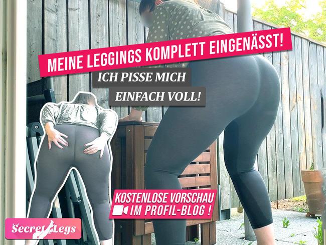 Video Thumbnail Meine LEGGINGS komplett EINGENÄSST! - Ich pisse mich einfach voll!