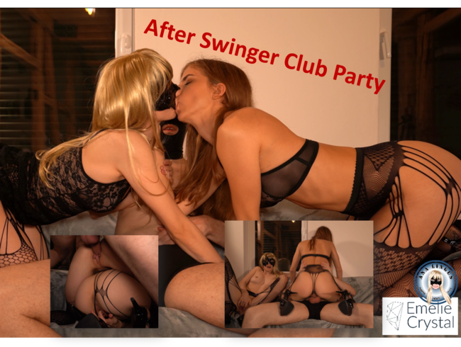 Video Thumbnail After Swinger Club Party Fuck