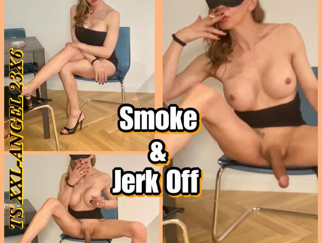 Video Thumbnail TSXXL-ANGEL23X6 Smoke & Jerk Off
