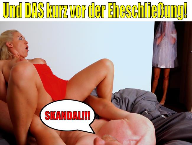 Video Thumbnail Skandal vor der Eheschließung | Braut erwischt uns inflagranti...!