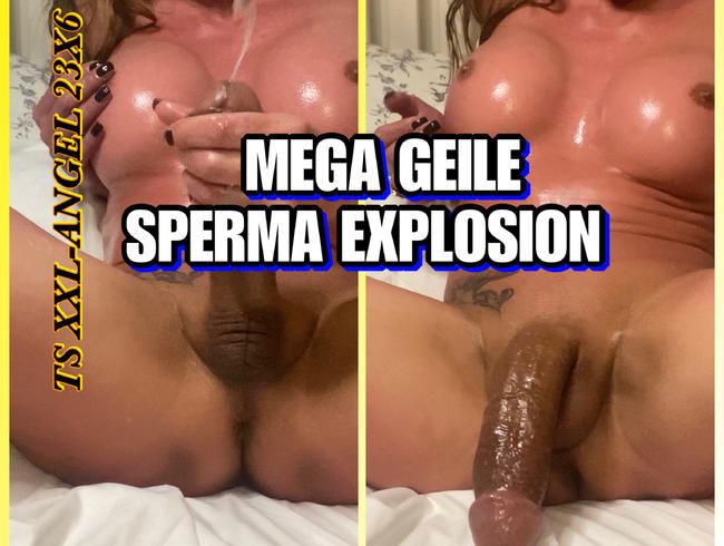 Video Thumbnail TSXXL-ANGEL23X6 MEGA GEILE SPERMA EXPLOSION