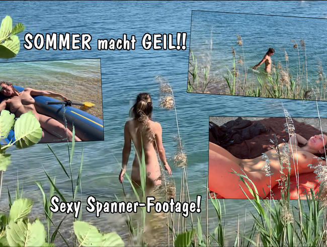Video Thumbnail SOMMER macht GEIL!! Sexy Spanner-Footage! (Soft-Clip)