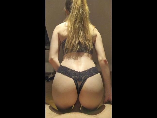 Video Thumbnail Quickie mit süßer kleiner Blondine