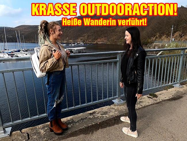 Video Thumbnail KRASSE OUTDOORACTION! Heiße Wanderin verführt!