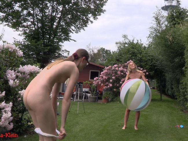 Bella-Klein - Sexy Spaß mit dem Gummiwasserball !!
