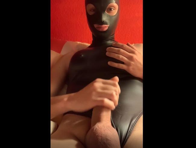 Video Thumbnail Im Leohex Rubber Swimsuit gespielt #1 Alina Koya TS