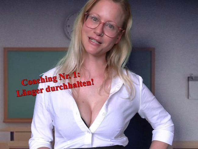 Video Thumbnail Sex Coaching Nr. 1 - länger durchhalten!