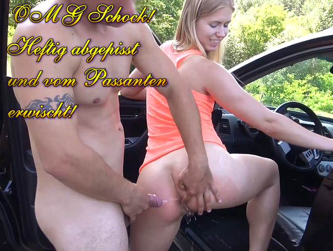 Video Thumbnail OMG Schock! Heftig abgepisst und vom Passanten erwischt!
