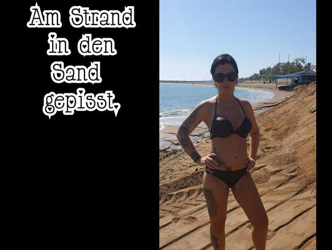 Video Thumbnail Am Strand in den Sand gepisst