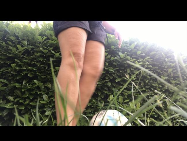 Video Thumbnail Nackte Füße und Fusball