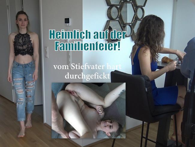 Video Thumbnail Heimlich auf der Familienfeier vom Stiefvater gebumst
