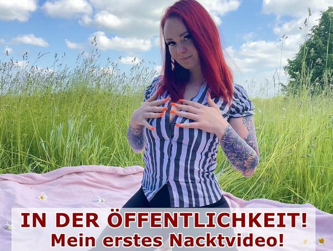 Video Thumbnail IN DER ÖFFENTLICHKEIT! Mein erstes Nacktvideo!