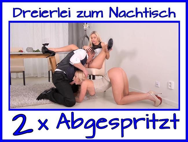 Video Thumbnail Zum Nachtisch gab geile Sahne…