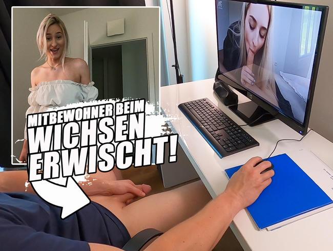 Video Thumbnail MITBEWOHNER BEIM WICHSEN ERWISCHT!