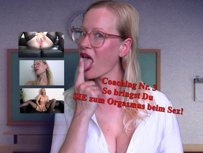 Video Thumbnail Coaching Nr. 3 - SO bringst Du SIE Orgasmus beim Sex