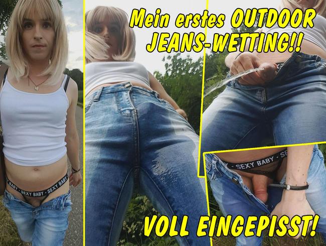 Video Thumbnail Mein erstes Jeans Wetting! Nach Public-Nude-Walk total eingepisst!