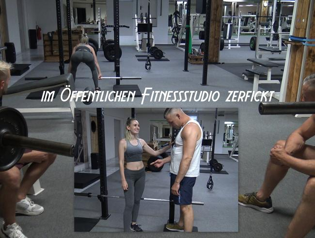 Video Thumbnail AUFNAHMERITUAL - im öffentlichen Fitnessstudio hart zerfickt
