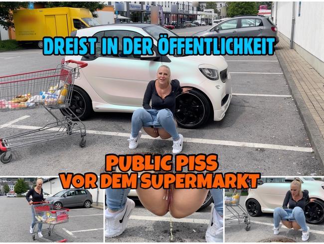 Video Thumbnail Dreist in der Öffentlichkeit | PUBLIC PISS vor dem Supermarkt