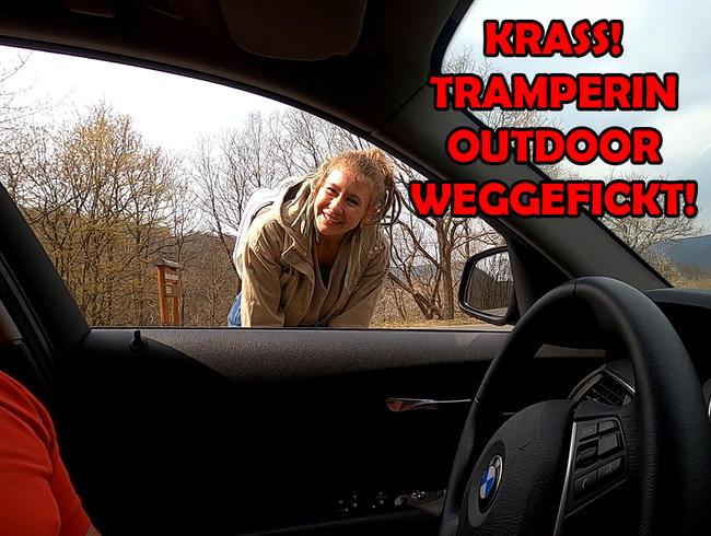 Video Thumbnail KRASS! Tramperin Outdoor weggefickt!