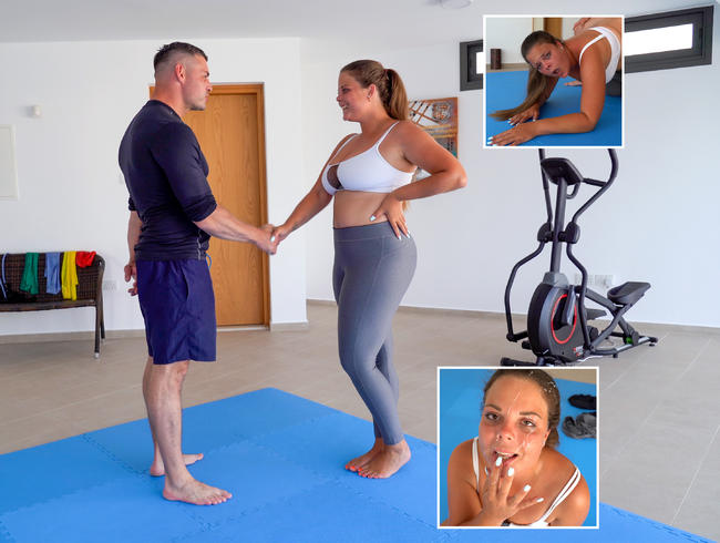 Video Thumbnail Unglaublich! - Fitnesstrainer nimmt mich hart ran